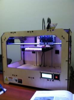 MakerBot running through setup mode