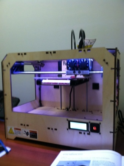 MakerBot running through setup mode