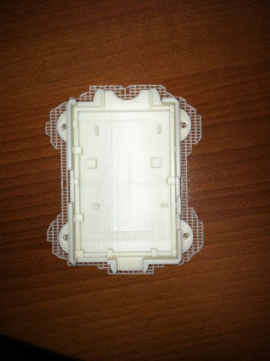 Raspberry PI bottom section