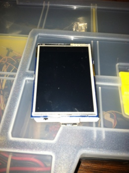 Touch screen shield