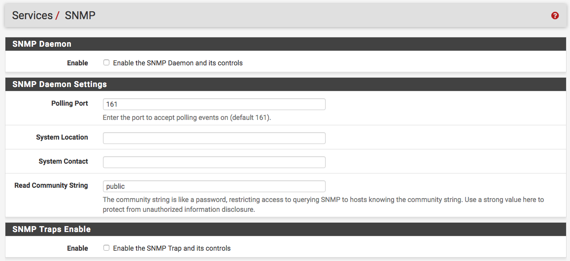 pfSense and SNMP – Introduction – Internet Of Things @ Home